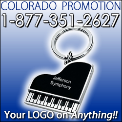 Imprinted Piano Keychains