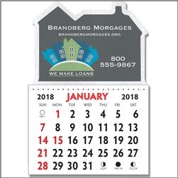Imprinted Adhesive Calendars